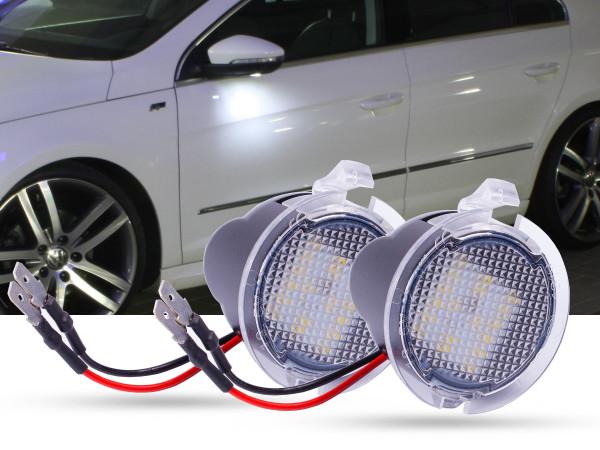 2er Set OEM LED Module für Umfeldbeleuchtung, Aussenspiegel, Ford Mondeo, Volvo XC60