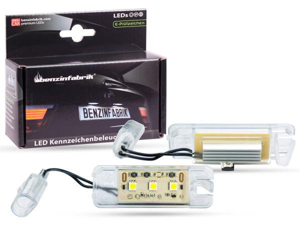 LED Kennzeichenbeleuchtung Module VW Polo ab Bj. 2000, mit E-Prüfzeichen