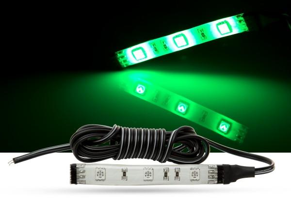 LED Stripe, 10cm, SMD LEDs, 12V, grün