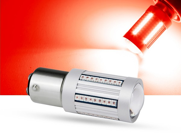 66er 2016 SMD LED BAZ15d, LEDP21/4W, rot, Canbus