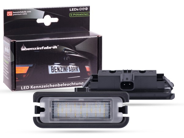 LED Kennzeichenbeleuchtung Module Ford Mustang, Bj.: 15-17, mit E-Prüfzeichen