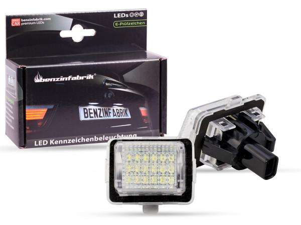 LED Kennzeichenbeleuchtung Module Mercedes C-Klasse W204 ab Bj. 2012, mit E-Prüfzeichen
