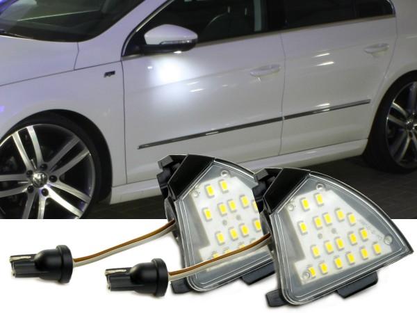 2er Set OEM LED Module für Umfeldbeleuchtung, Aussenspiegel, VW, Golf 5, Jetta, Passat