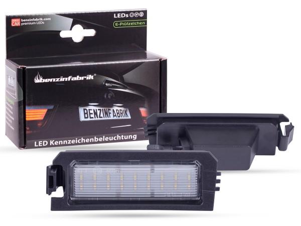 LED Kennzeichenbeleuchtung Module KIA Rio YB ab 2017, mit E-Prüfzeichen