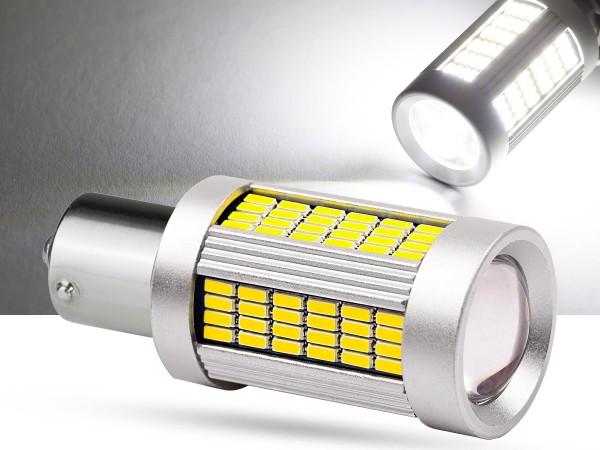 135er 4014 SMD LED BA15s, LEDP21W, weiß, Canbus