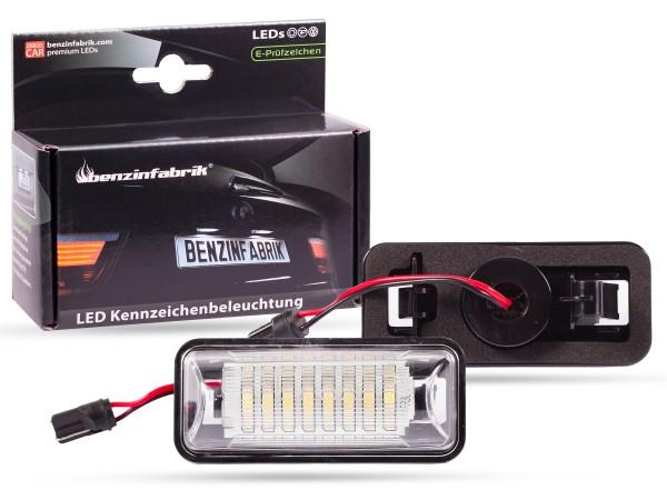 LED Kennzeichenbeleuchtung Module Subaru BRZ, mit E-Prüfzeichen