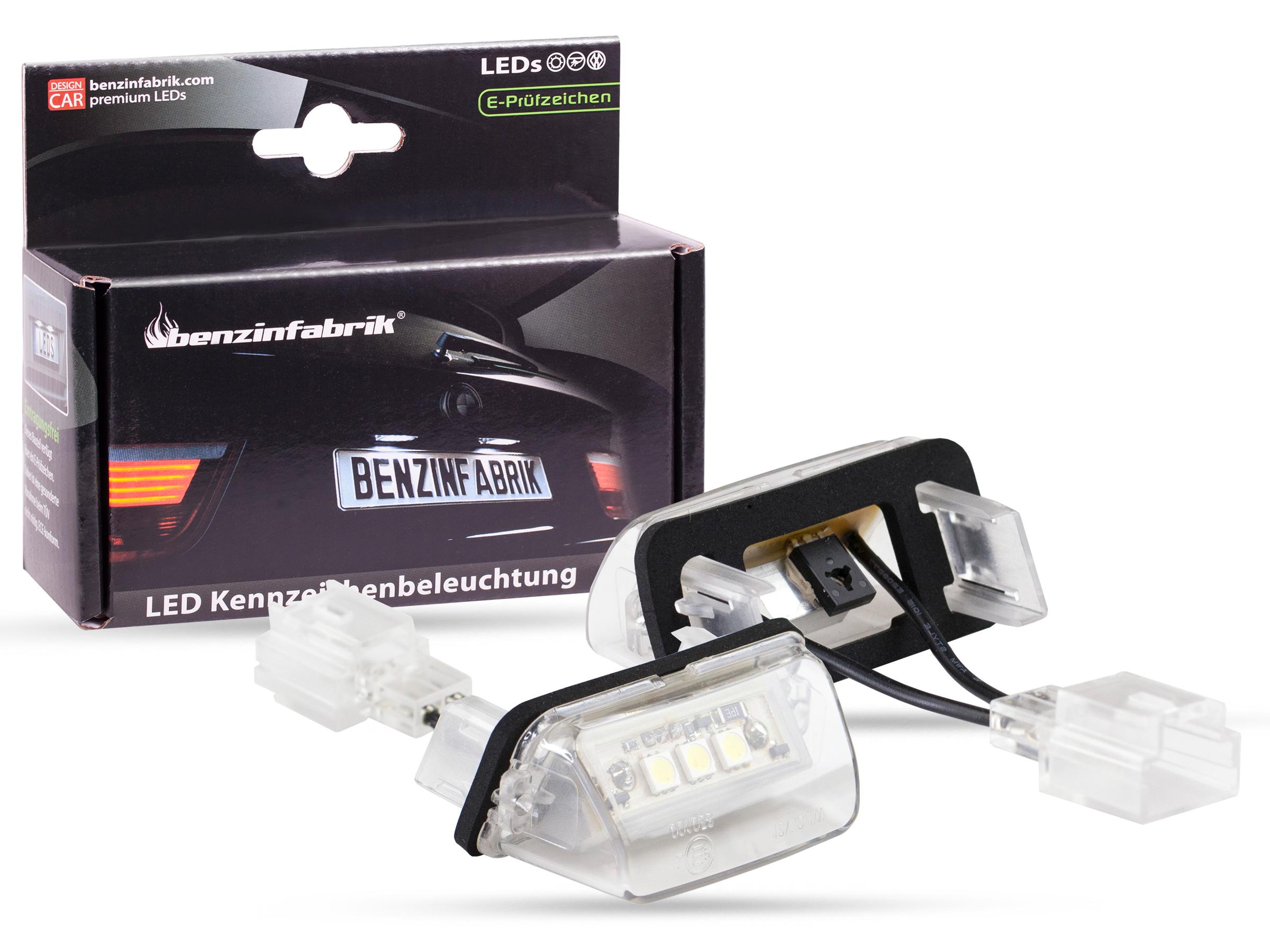 led kennzeichenbeleuchtung module peugeot 206, 206plus, 206cc, 207
