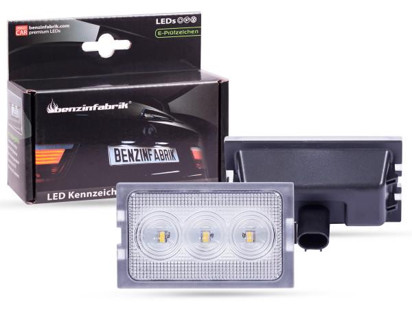 LED Kennzeichenbeleuchtung Module Land Rover Freelander 2 ab 2006, mit E-Prüfzeichen