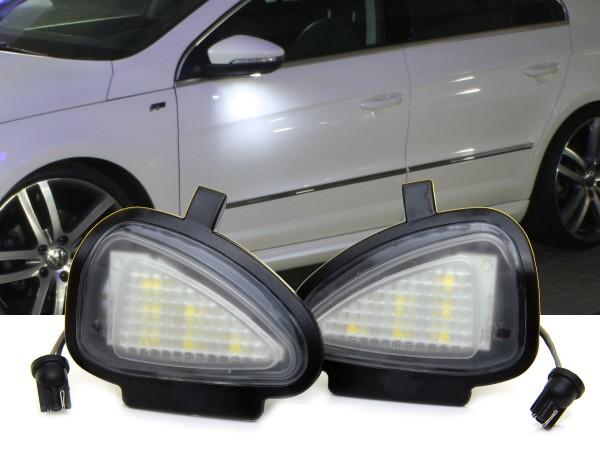 2er Set OEM LED Module für Umfeldbeleuchtung, Aussenspiegel, VW, Golf 6, Touran 2009, Tiguan 2011