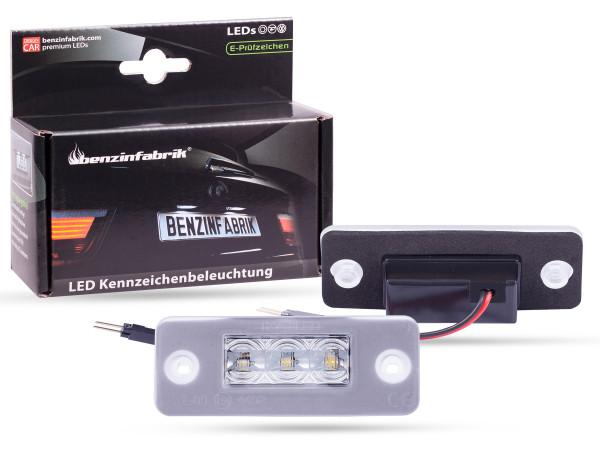 LED Kennzeichenbeleuchtung Module Audi A8 4E, mit E-Prüfzeichen