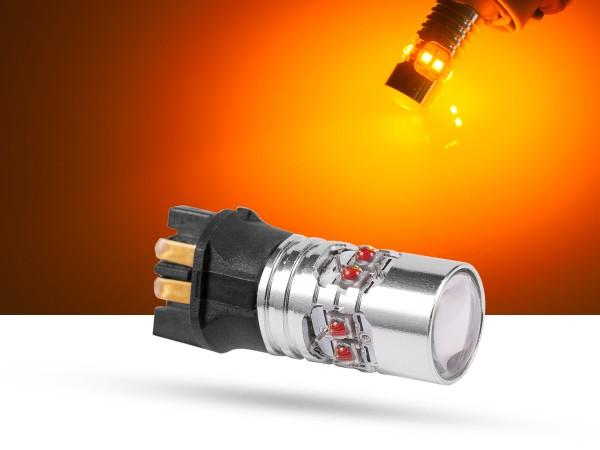 50 Watt, 10x5W CREE® LED, LEDPWY24W, orange