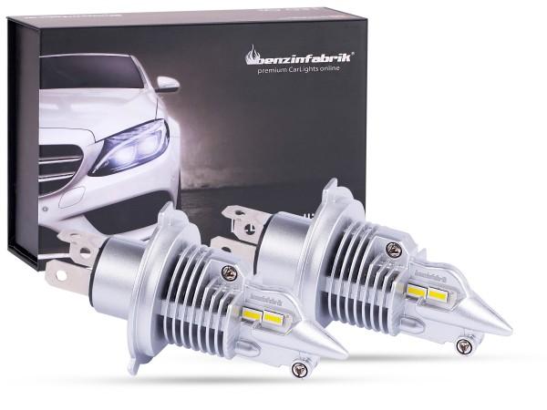 LED Scheinwerferset LEDH4 Compact