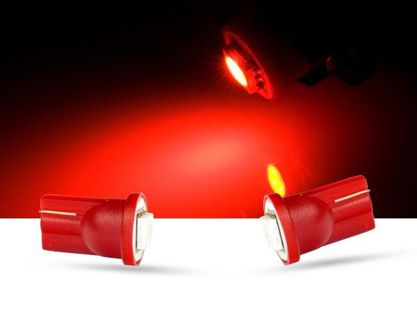 1er SMD LED Innenraumlicht, LEDW5W T10, rot