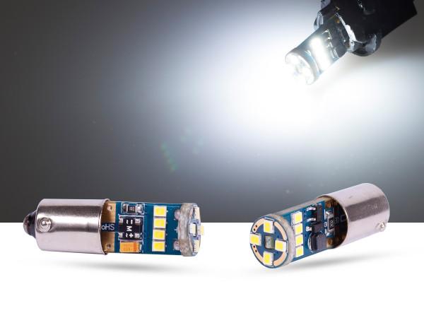 12er 2016SMD LED, Metallsockel BAX9s LEDH6W, CAN-bus