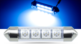 SMD LED Soffitten, blau