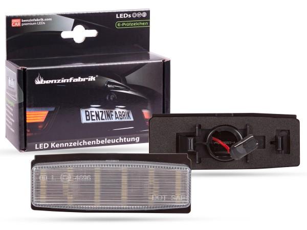 LED Kennzeichenbeleuchtung Module Mazda MX-5 NC Bj.:06-15, mit E-Prüfzeichen