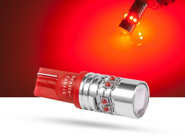 50 Watt, 10xCREE® LED, T15 LEDW16W, rot