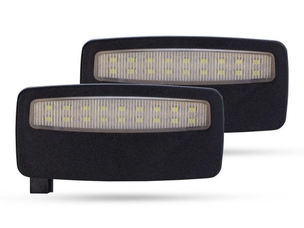 2er Set OEM LED Module für Schminkspiegel Innenraumbeleuchtung BMW z.B. E84, E90, E60