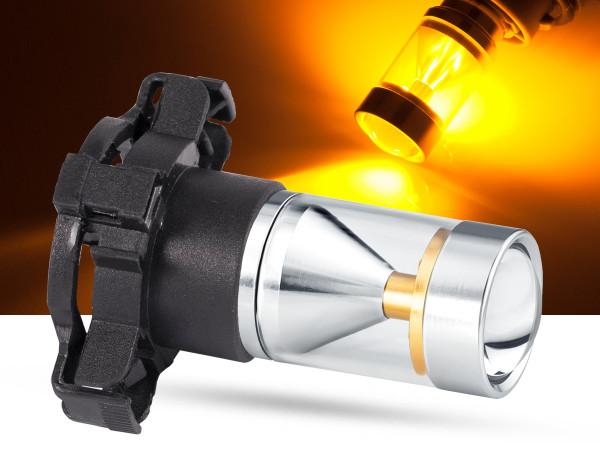 30 Watt, 6x5W CREE® LED, LEDPY24W, orange