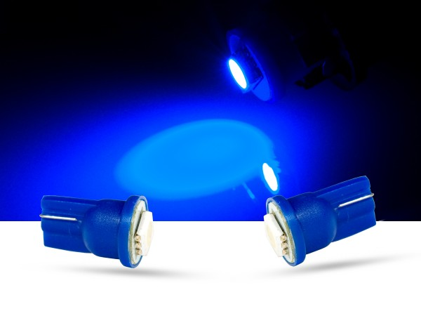 1er SMD LED Innenraumlicht, LEDW5W T10, blau