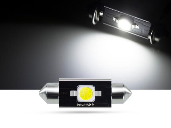 39mm 2 Watt SMD LED Soffitte Innenraumlicht, CAN-bus, weiss