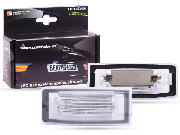 LED Kennzeichenbeleuchtung Module Audi TT 8N Bj.99-06 Coupe, Roadster, mit E-Prüfzeichen