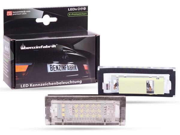 LED Kennzeichenbeleuchtung Module BMW 5er E39 Touring, mit E-Prüfzeichen