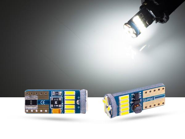 15er mini SMD LED, Glassockel T10 LEDW5W, CAN-bus, offroad