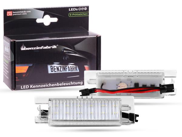 LED Kennzeichenbeleuchtung Module Opel, Chevrolet, Alfa Romeo