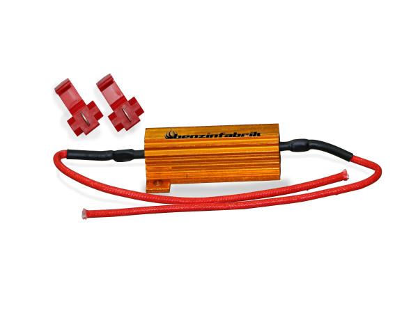 1x Lastwiderstand Plug n' Play, für LED Blinker, 50W, 6 Ohm, offroad
