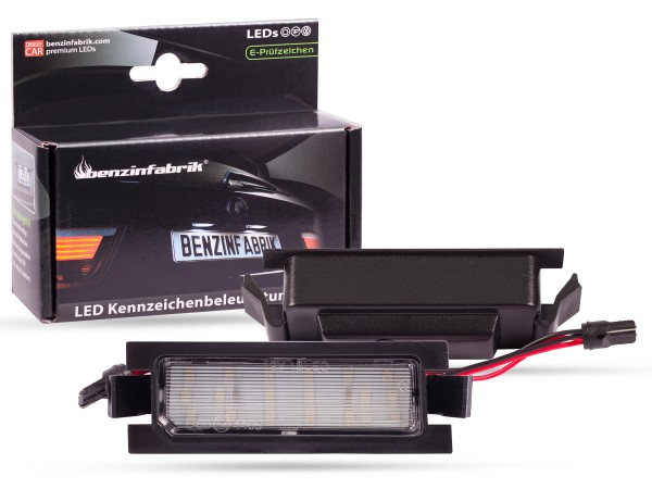 LED Kennzeichenbeleuchtung Module Hyundai I30 ab 2013, mit E-Prüfzeichen