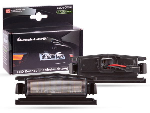 LED Kennzeichenbeleuchtung Module Mazda 2 ab 2014, mit E-Prüfzeichen