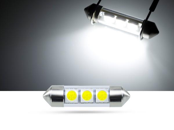 36mm 3x3-Chip SMD LED Soffitte Innenraumlicht, weiss