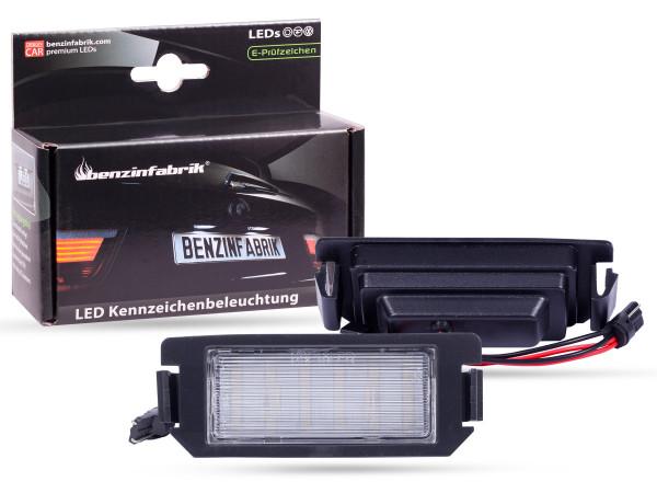 LED Kennzeichenbeleuchtung Module Hyundai Veloster, mit E-Prüfzeichen