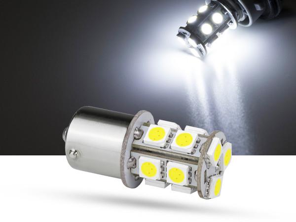13er SMD LED Spot, BA15s, LEDR10W, weiß, 9-32 V, offroad