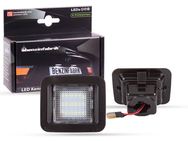 LED Kennzeichenbeleuchtung Module Ford Raptor ab 2015, mit E-Prüfzeichen