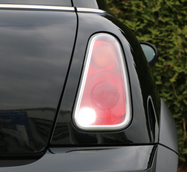 10x5 W CREE® LED Rückfahrlicht Mini R50 R52 R53, weiss