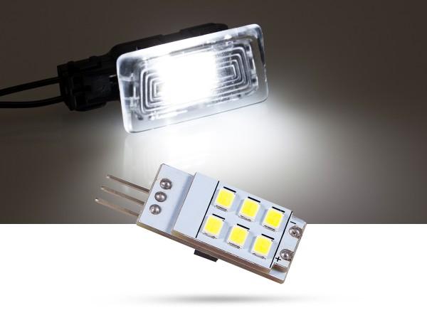 6x2835 SMD LED Modulplatine Ausstiegsbeleuchtung für Volvo