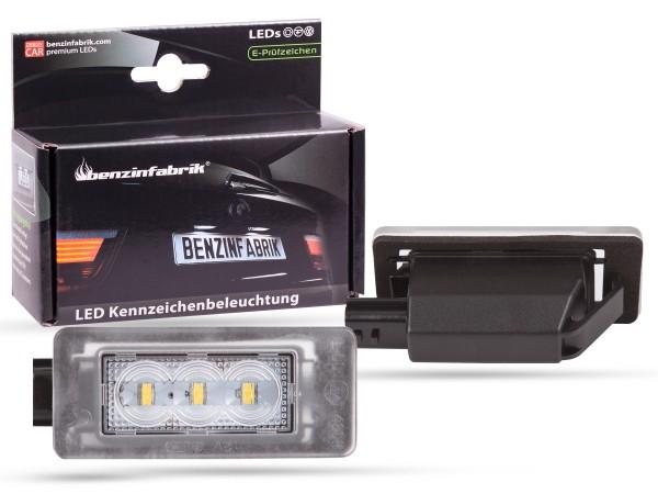 LED Kennzeichenbeleuchtung Module Dacia Duster 2 ab 2018, mit E-Prüfzeichen