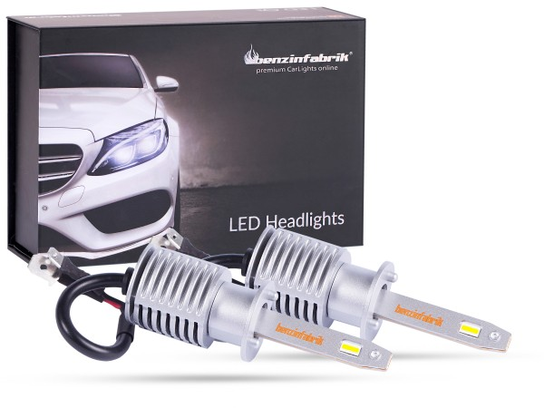 LED Scheinwerferset LEDH1 Compact