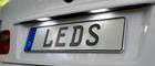 LED Kennzeichenbeleuchtung für Audi