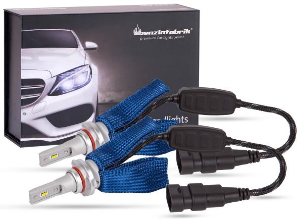LED Abblendlichtset LEDHB3 V2.1, weiss, BLUE striped Version