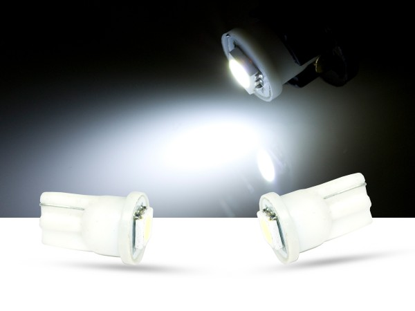1er SMD LED Innenraumlicht, LEDW5W T10, weiss
