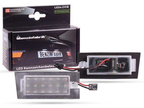LED Kennzeichenbeleuchtung Module JEEP Cherokee KL ab 2013, mit E-Prüfzeichen
