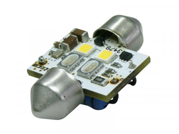 BEPHOS RGBW LEDC5W 31mm Soffitte, CAN-Bus