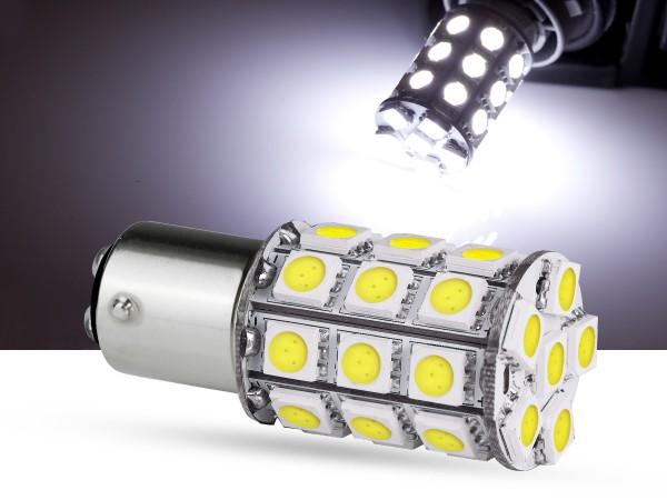 30er SMD LED Spot, BAY15d LEDP21/5W, weiss, offroad