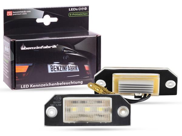 LED Kennzeichenbeleuchtung Module Ford Focus MKII, Bj.: 04-08, mit E-Prüfzeichen