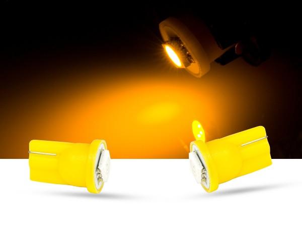 1er SMD LED, Glassockel T10 LEDW5W, orange