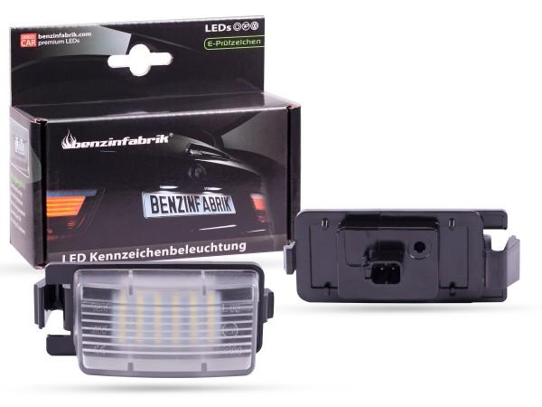 LED Kennzeichenbeleuchtung Module Nissan GTR R35, mit E-Prüfzeichen