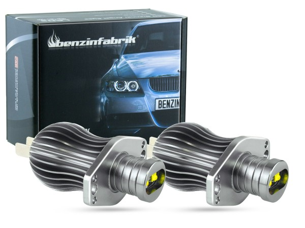 12 Watt LED Angel Eyes, Umrüstset, BMW E90, E91, vor Facelift, offroad